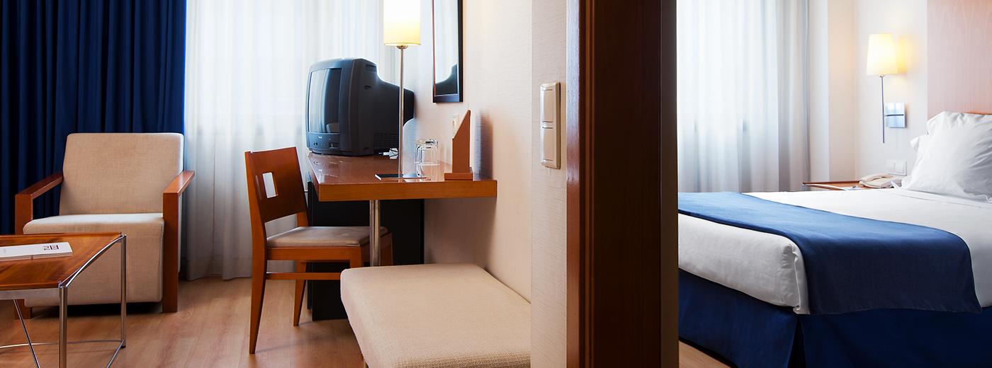 Habitación del Hotel Hesperia Barcelona Del Mar