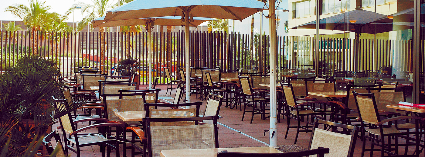 Restaurante del Hotel Hesperia Barcelona Del Mar