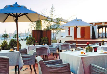 Restaurante del Hotel Hesperia A Coruña Finiterre