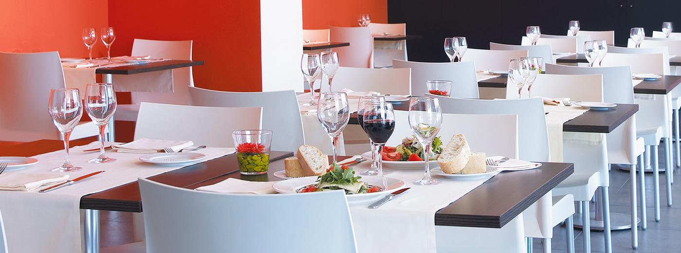 Restaurante del Hotel Hesperia Barcelona Fira Suites