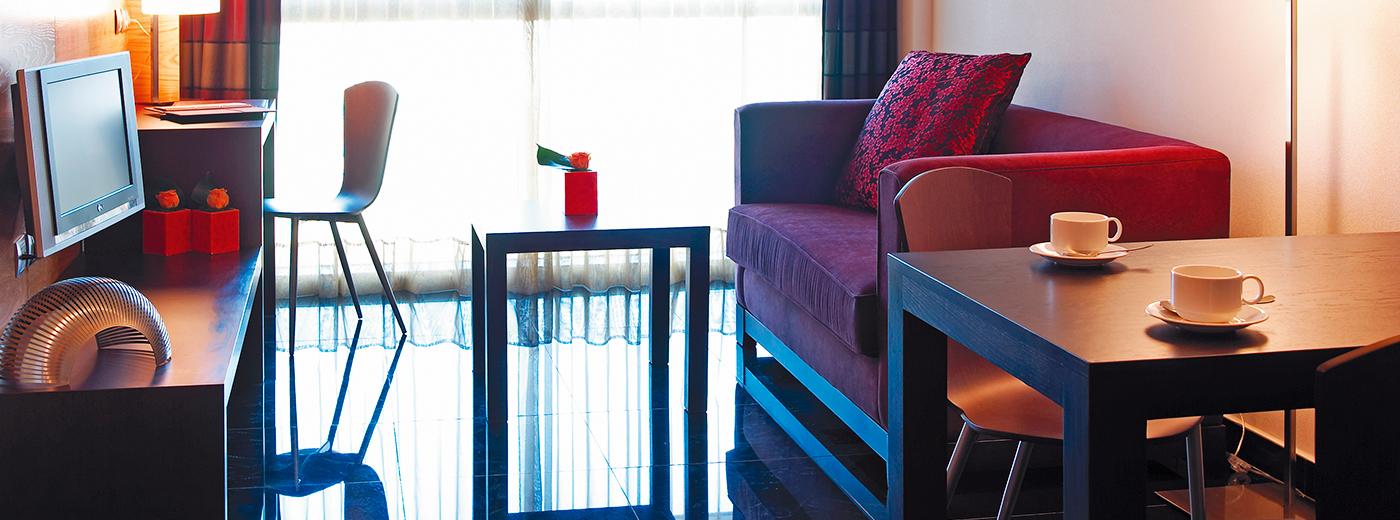 Habitación del Hotel Hesperia Barcelona Fira Suites