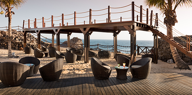 Lanz Beach de l'Hotel Hesperia Lanzarote