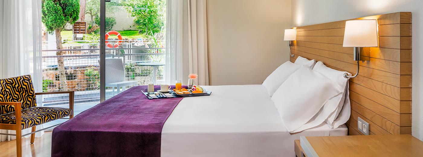 Habitación del Hotel Hesperia Cuidad de Mallorca