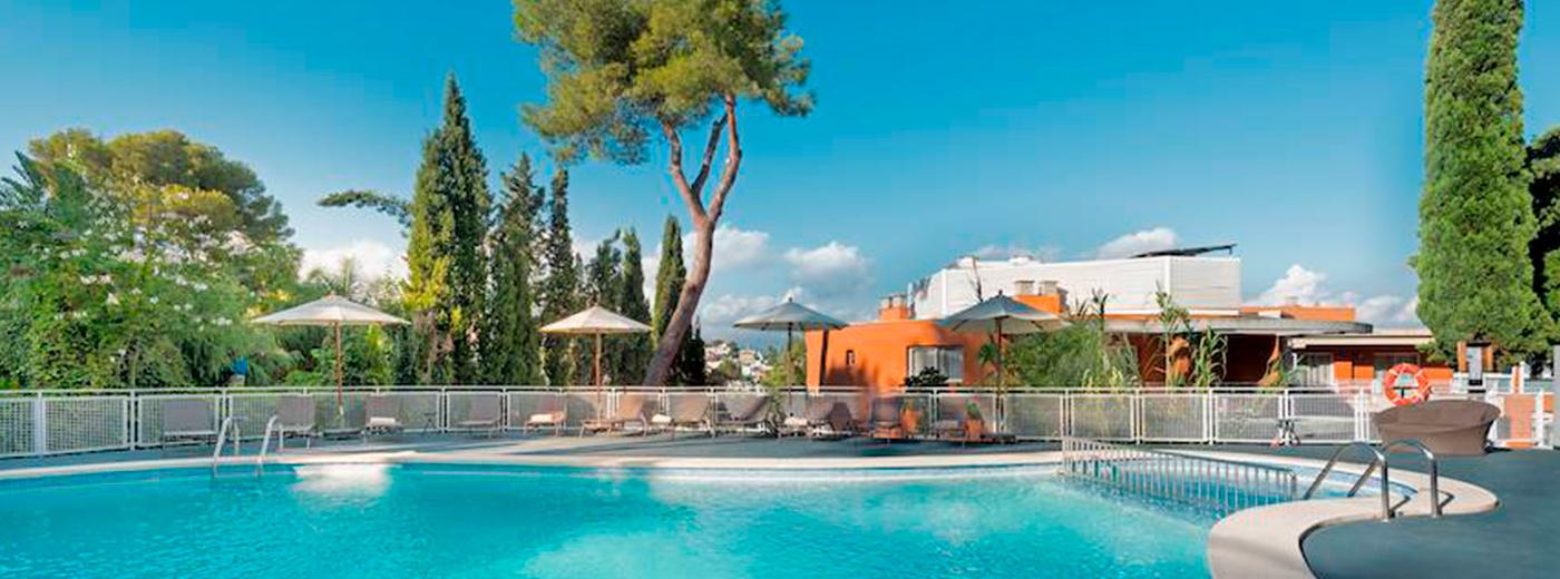 Piscina del Hotel Hesperia Cuidad de Mallorca