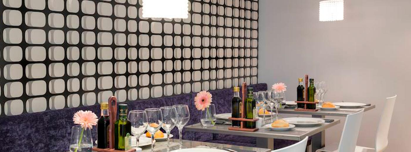 Restaurante del Hotel Hesperia Cuidad de Mallorca