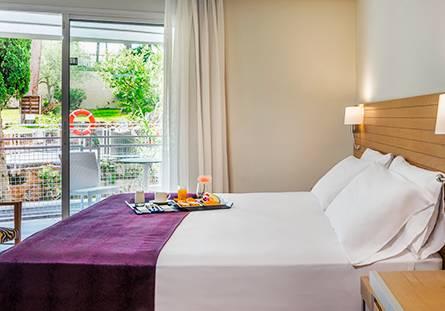 Habitación del Hotel Hesperia Ciudad de Mallorca