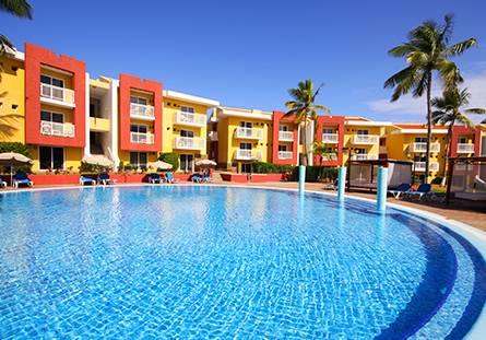 Piscina de l'Hotel Hesperia Playa El Agua
