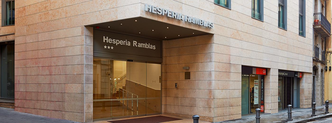 Hotel Hesperia Barcelona Ramblas