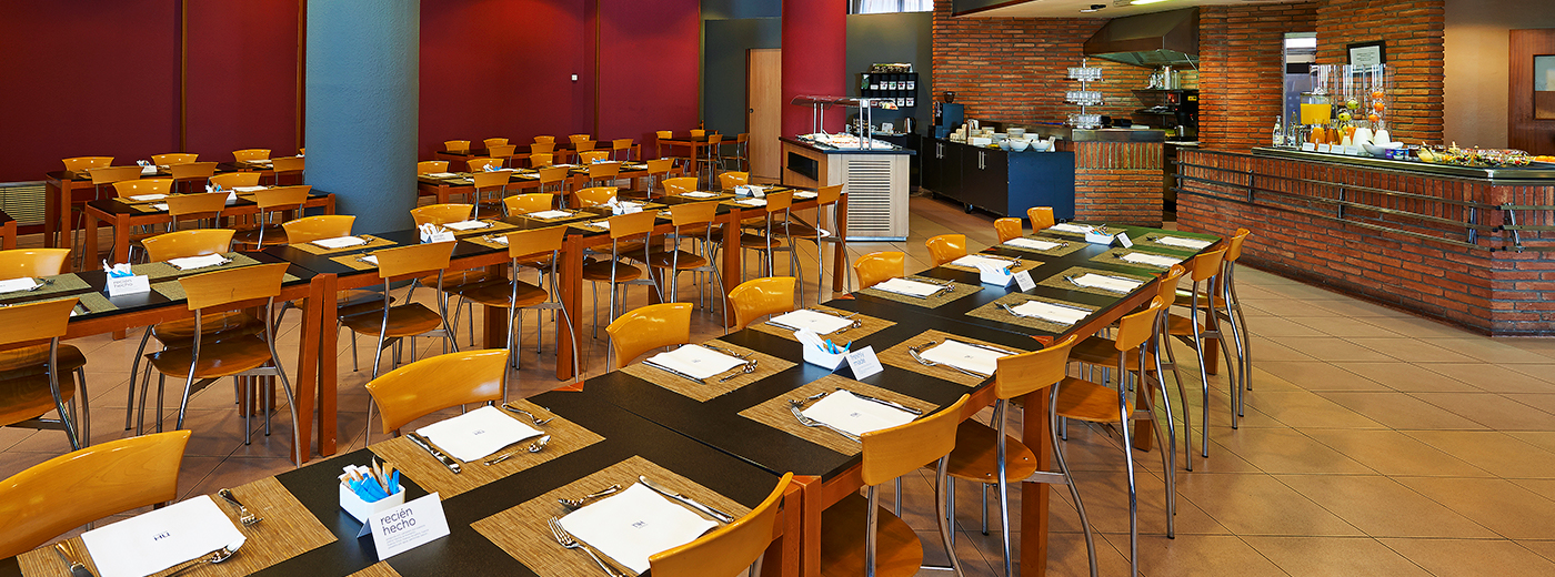 Restaurante del Hotel Hesperia Sant Joan