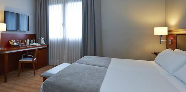 Habitació standard individual de l'Hotel Hesperia Zubielde