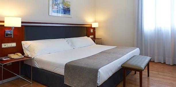 Habitació superior de l'Hotel Hesperia Zubialde