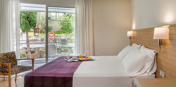 Habitació superior de l'Hotel Hesperia Ciutat de Mallorca