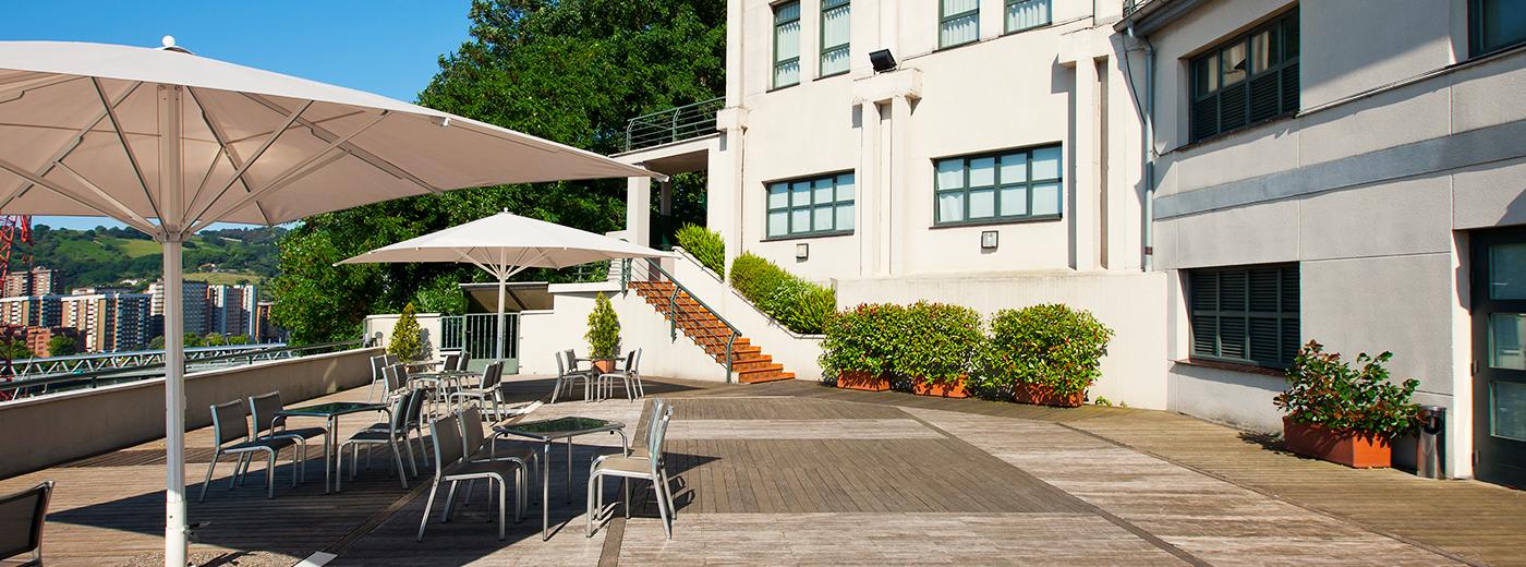 Terrassa de l'Hotel Hesperia Zubialde