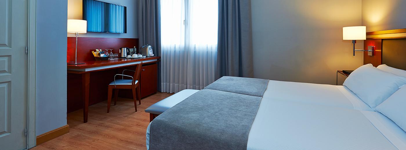 Habitació de l'Hotel Hesperia Zubialde