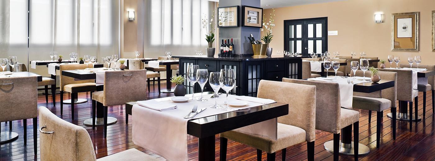 Restaurante del Hotel Hesperia Zubialde